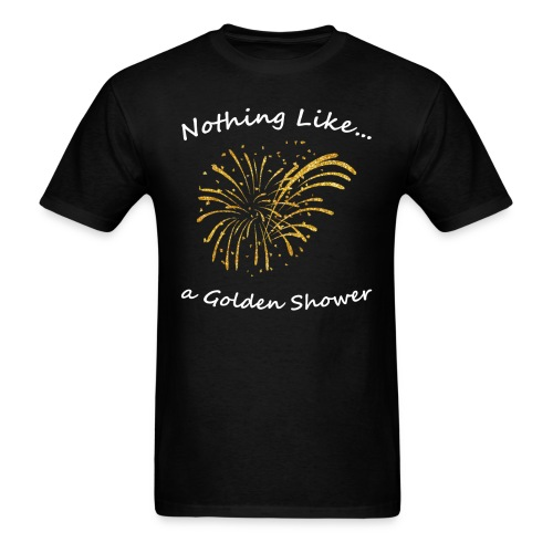 Golden Shower - Men's T-Shirt - Men's T-Shirt