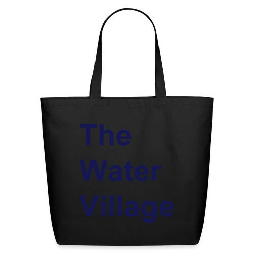 The Water Village logo  - Eco-Friendly Cotton Tote