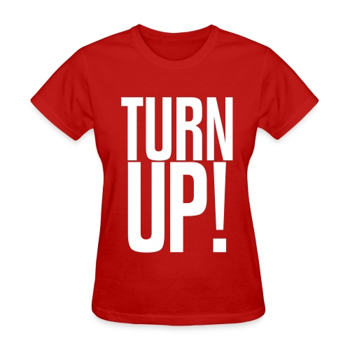 Women's Turn Up T-Shirt [The D. Vinzant Collection] - Women's T-Shirt
