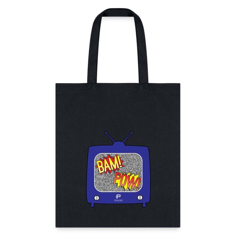 BAM! POW! TV_v2 - Tote Bag