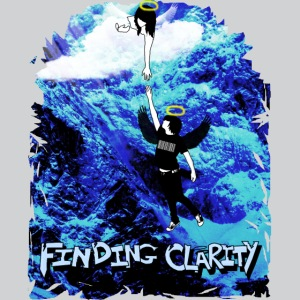 Unity Women's Fitted Stretch Tank Top (Red SPARKLE Logo) - Women's Longer Length Fitted Tank