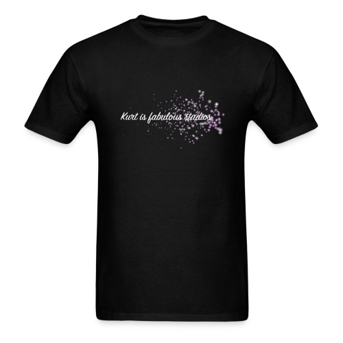 Kurt is Fabulous Studios (PUFFER FISH CONFIRMED) Men's T-Shirt. - Men's T-Shirt