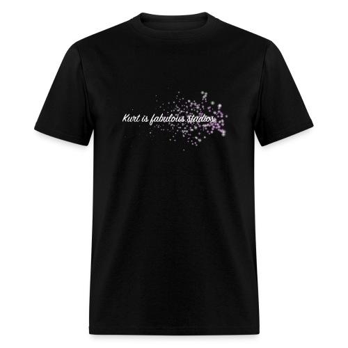 Kurt is Fabulous Studios (PUFFER FISH CONFIRMED) Men's T-Shirt. - Men's T-Shirt