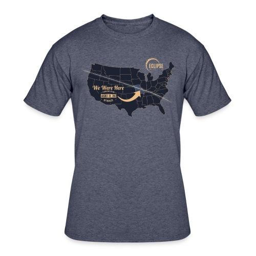 Eclipse 2017 - Mens Jersees Tee - Men's 50/50 T-Shirt