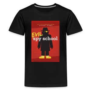 Evil Spy School - Kid's Size (L) - Kids' Premium T-Shirt