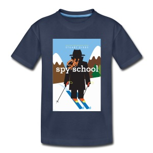 Ski Spy School - Kid's Size (L) - Kids' Premium T-Shirt
