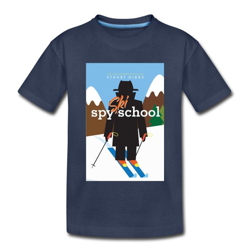 Ski Spy School - Kid's Size (M) - Kids' Premium T-Shirt
