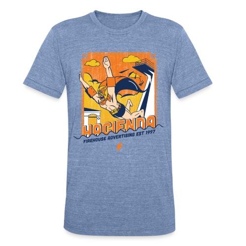 Hacienda Lucha 2017 - Men's Tee - Unisex Tri-Blend T-Shirt