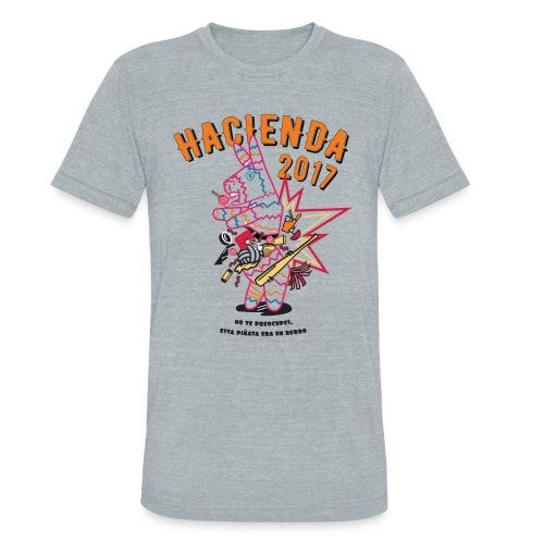 Hacienda Piñata 2017 - Men's Tee - Unisex Tri-Blend T-Shirt