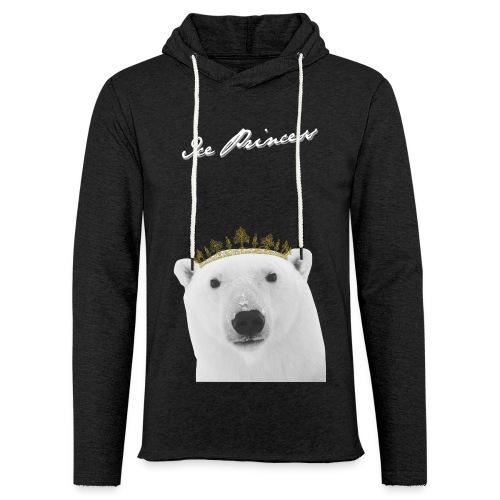 Princess Polar Bear Lightweight Hoodie - Unisex Lightweight Terry Hoodie