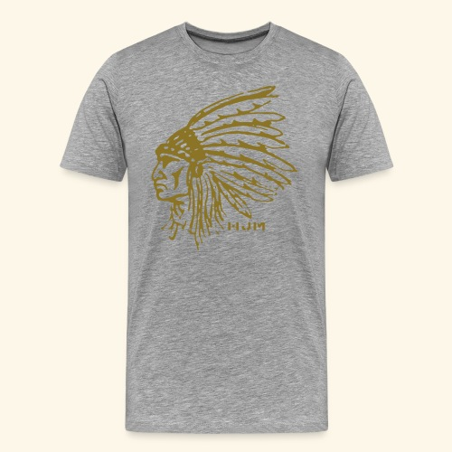 Indian Chief T-Shirt - Men's Premium T-Shirt