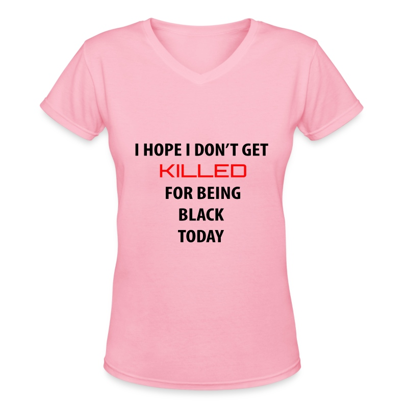 hope - Women's V-Neck T-Shirt