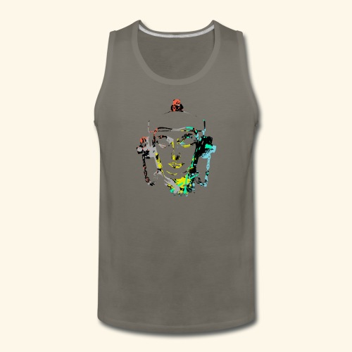 Fire hydrant with Headset by patjila2 - Men's Premium Tank