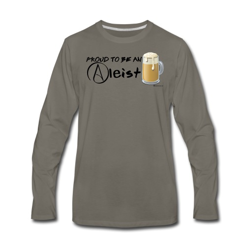 Proud To Be An Aleist Men's Premium Long Sleeve T-Shirt - Men's Premium Long Sleeve T-Shirt