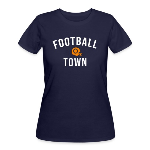 Football Town - Ladies - Women's 50/50 T-Shirt