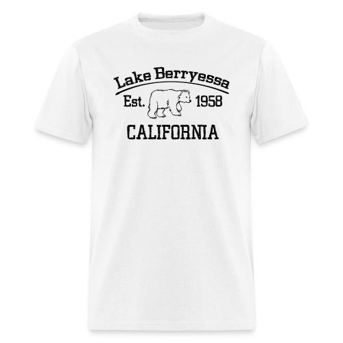 Lake Berryessa T-Shirt (Bear, Black) - Men's T-Shirt