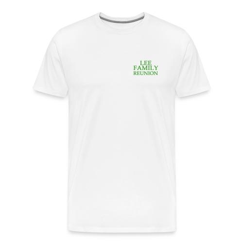 Adult Lee Family Reunion (Green) - Men's Premium T-Shirt