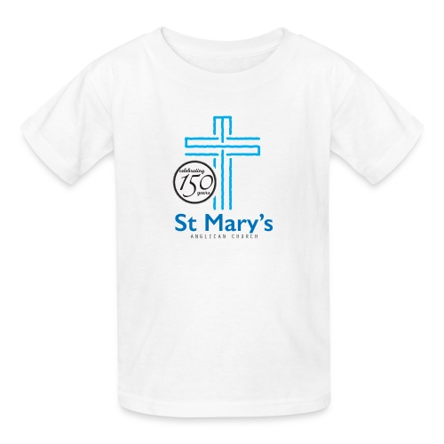 150th White T-Shirt (kids) - Kids' T-Shirt