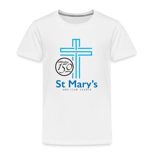 150th White T-Shirt (toddler) - Toddler Premium T-Shirt