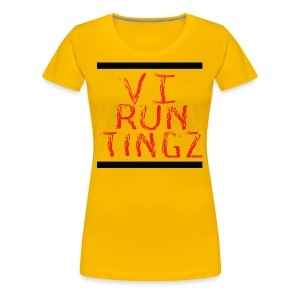Run Tingz - Women's Premium T-Shirt