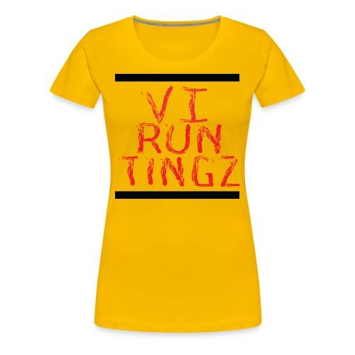 Run Tingz - Women's Premium T-Shirt