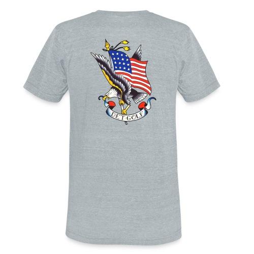 Heather Eagle T - Unisex Tri-Blend T-Shirt