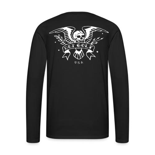 Black Long Sleeve T - Men's Premium Long Sleeve T-Shirt