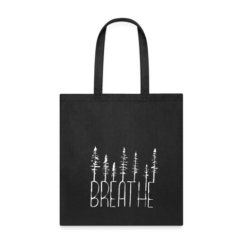 Breathe (white) Tote - Tote Bag