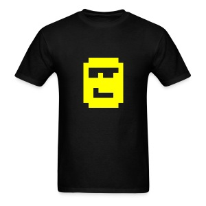 MegaZeux Pixel Smiley - Cool Guy - Sunglasses - Men's T-Shirt