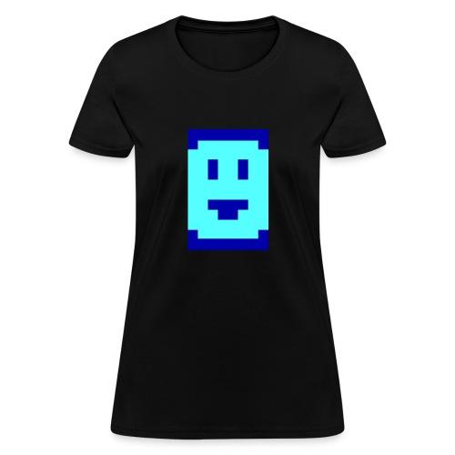 Megazeux Pixel Smiley - Girly - Women's T-Shirt