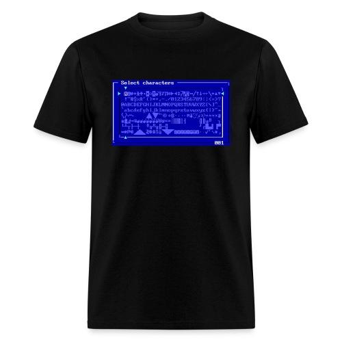 Megazeux Character Set - Men's T-Shirt