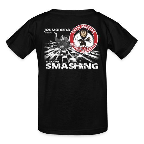 Kid's Art of Smashing - black - Kids' T-Shirt