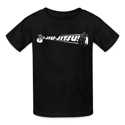 Kid's Jiu Jitsu vintage - black - Kids' T-Shirt