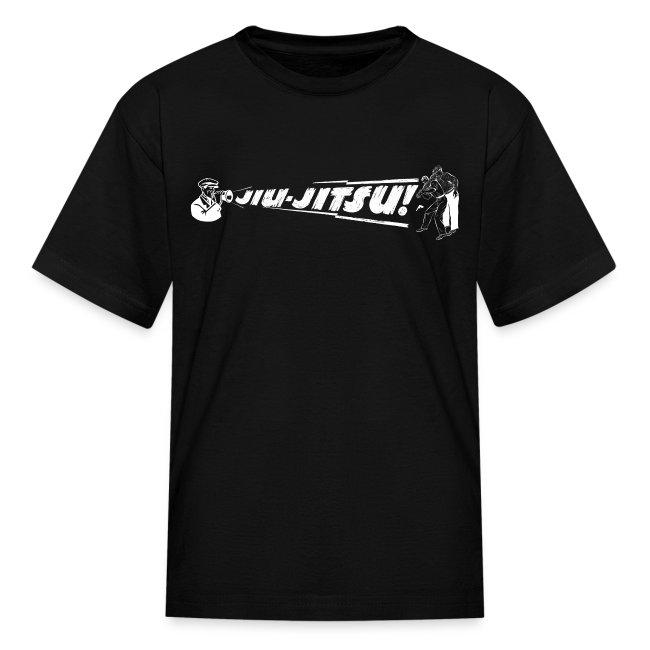 Kid's Jiu Jitsu vintage - black