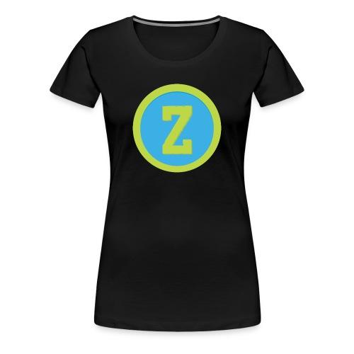 Coin Blue Female T-Shirt - Women's Premium T-Shirt