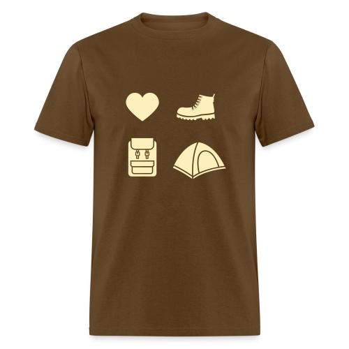 I Love Camping 03 - Men's T-Shirt