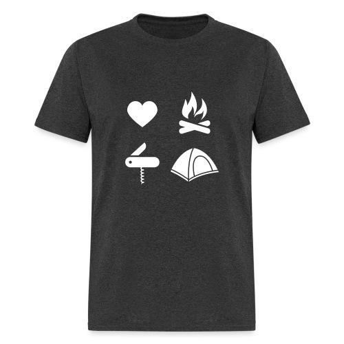 I Love Camping 01 - Men's T-Shirt