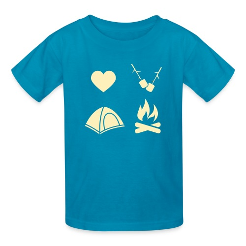 I Love Camping 02 - Kids' T-Shirt