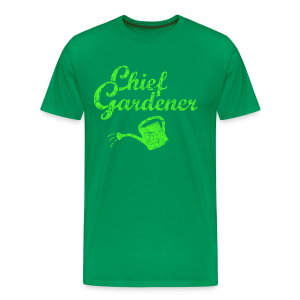 CHIEF GARDENER T-Shirt - Men's Premium T-Shirt