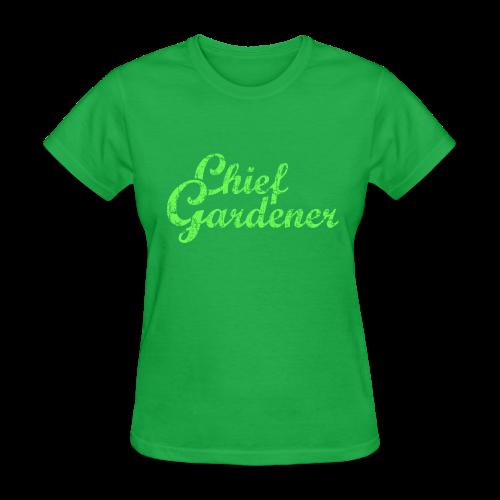 CHIEF GARDENER T-Shirt - Women's T-Shirt