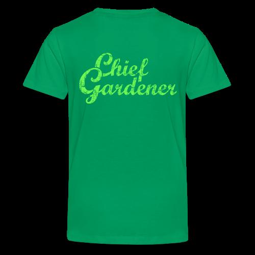 CHIEF GARDENER Kids' T-Shirt - Kids' Premium T-Shirt