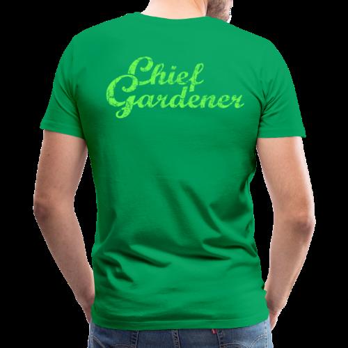 CHIEF GARDENER T-Shirt - Men's Premium T-Shirt