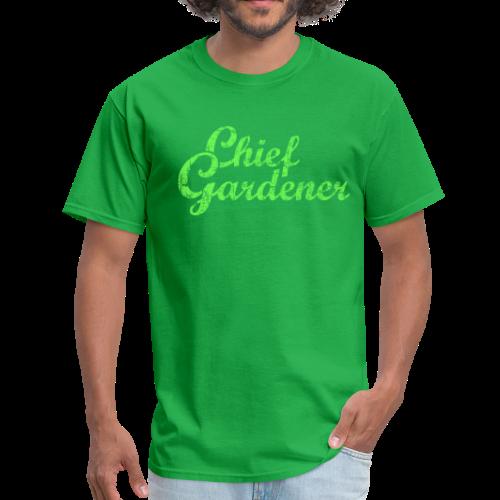 CHIEF GARDENER T-Shirt - Men's T-Shirt