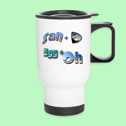 San D Egg Oh - Travel Mug