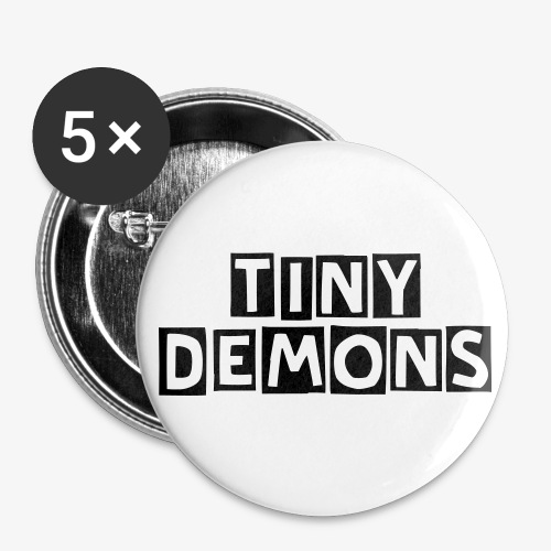 tiny demons text buttons - Small Buttons
