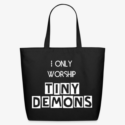 tiny demons tote - Eco-Friendly Cotton Tote