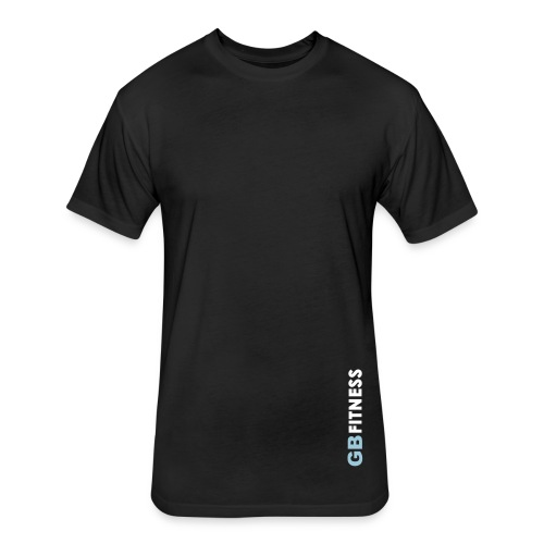 Clean Tee - Black - Fitted Cotton/Poly T-Shirt by Next Level