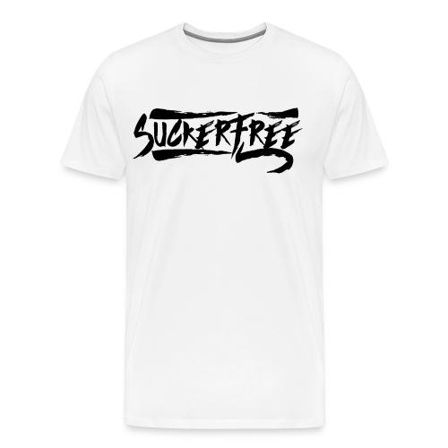 Sucker Free (Black Text) - Men's Premium T-Shirt