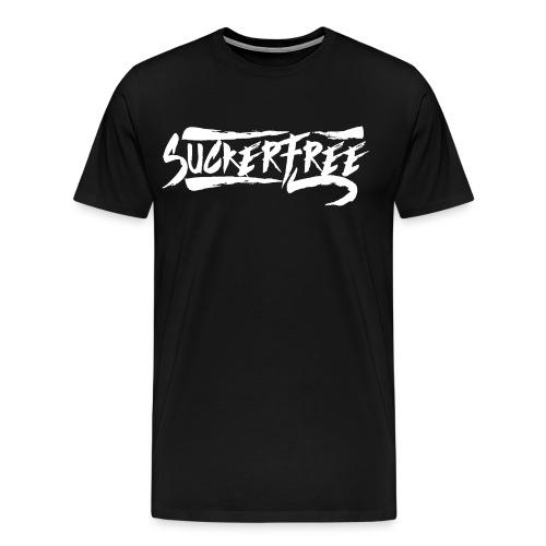 Sucker Free (White Text) - Men's Premium T-Shirt