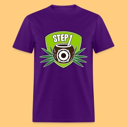 Step One Logo (Green) - Men's T-Shirt